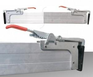 pachet 2 bara orizontala fixare marfa aluminiu 2.4m-2.7m