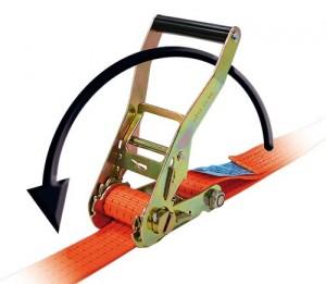 clichet simplu pentru chingi de ancorare pentru asigurare cargo
