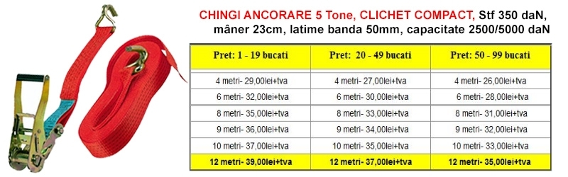 CHINGI ANCORARE 5 TONE